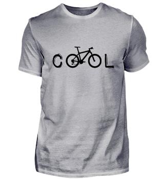 cool MTB Fahrrad Radfahrer Mountainbike