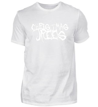 CHRISTMAS TREES - Fake Metal T-Shirt