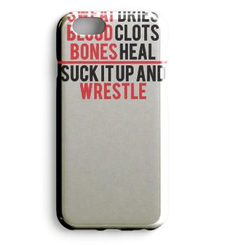 Sweat Dries - Blood Clots - Bones Heal - Geschenk Gift Wrestler Wrestling Fun Gag