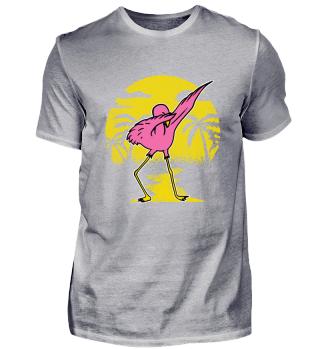 Dabbing Flamingo