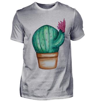 Kaktus mit Blume