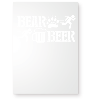 Bear/Beer - funny Beer Gift T-Shirt