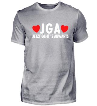 JGA T-Shirt Braut Bräutigam Hochzeit