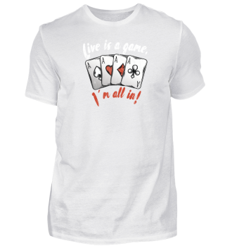 Live is a Poker Game! Im all in!