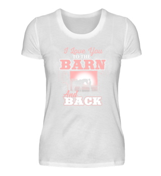 Horse Lover Horse Girl Horses Barn