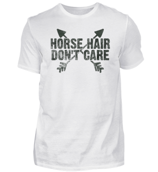 Funny Horse Hair Equestrian Woman Gift
