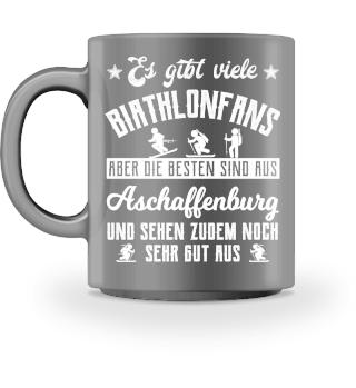 Biathlonfans - Aschaffenburg Geschenk