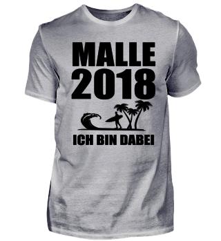MALLE 2018 ICH BIN DABEI - GESCHENK