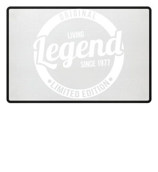 Living Legend since 1977 Limited Edition