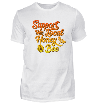 Support Your Local Honey Bee Beehive