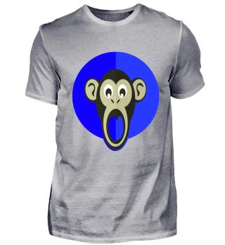 Blue monkey blauer Affe
