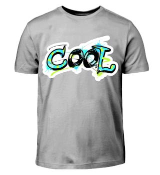 cooles Shirt für Kinder Graffiti Motiv