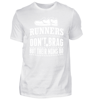 Running Runner Shirt Don't Brag