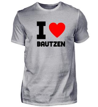 Geschenk Sachsen I Love Bautzen
