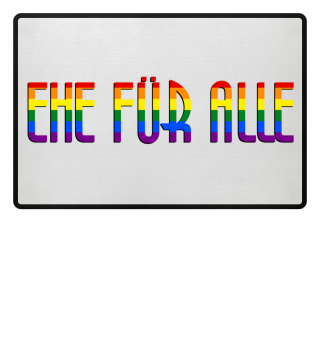 EHE FÜR ALLE - Rainbow Flag