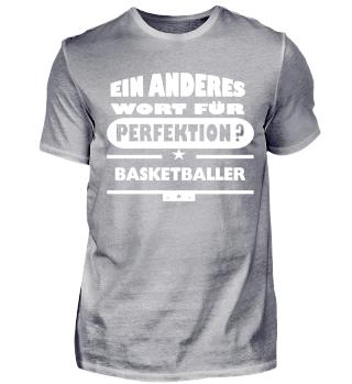Basketballer wort für perfektion