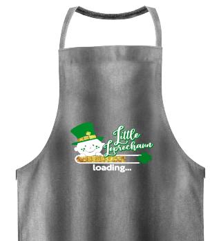 Little Leprechaun baby loading St Patricks day