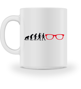 Evolution Of Humans - Glasses I
