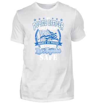 Los Angeles Police Officer Girl GF Gift