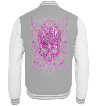 METAL IN PINK - BIOMECH SKULL -