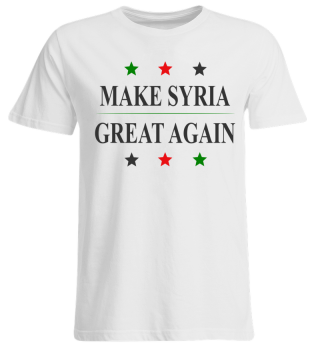 Make Syria Great Again - Man