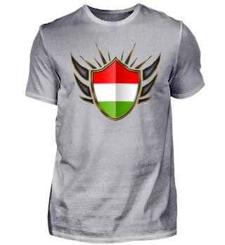 Ungarn-Hungary Wappen Flagge 014