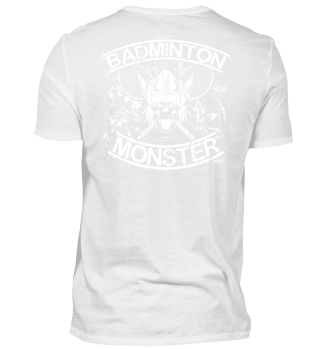 BADMINTON MONSTER RÜCKEN