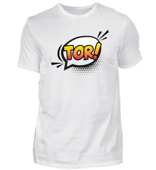 TOR! German for GOAL! sticker classic