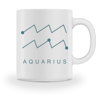 ★ Astrology Zodiac Symbol - Aquarius 1