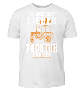 Landwirt - lieber Traktor fahren