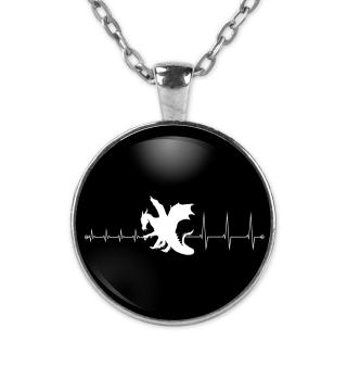 Heartbeat Drachen - Kette