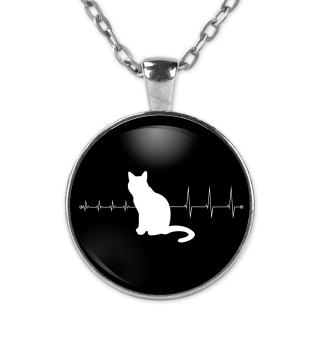 Heartbeat Katze - Kette