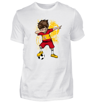 SPAIN Soccer Football Boy Dab