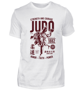 Judo - strength and courage