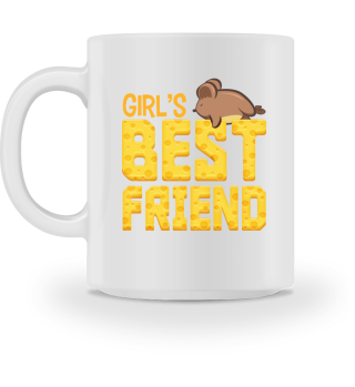 Mouse Girl's Best Friend Funny Gift