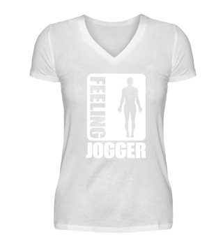 FEELING JOGGER SPORTS FUNNY GIFT