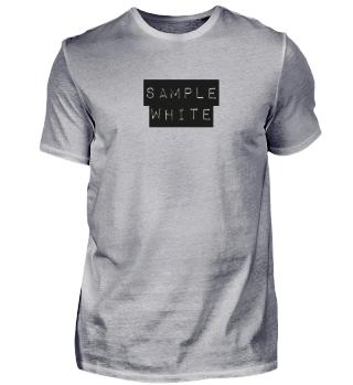 Sample white