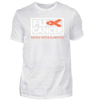 Fck Cancer Shirt kidney cancer