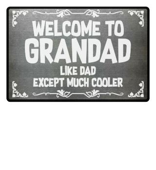 Grandad = cool - gift