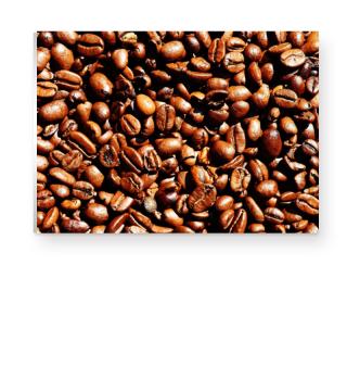 Foto - Geröstete Kaffeebohnen Poster