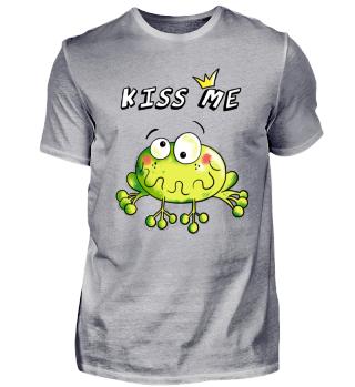 Kiss Me Frog - Prince - Frogs - Love