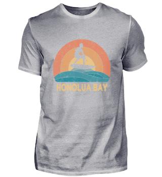 Honolua Bay Vintage Surfing TShirt Retro