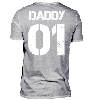 Daddy 01 Vater Tochter Partnerlook Shirt