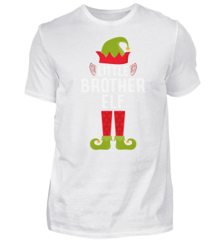 CHRISTMAS LITTLE BROTHER ELF T-SHIRT