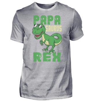 Papasaurus Rex Dinosaurier Vater Dad