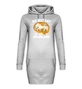 Pferd Hoodie Kleid - Es ist unheilbar