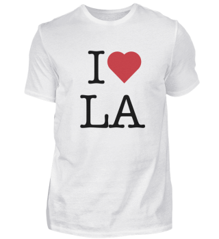 I love LA (Los Angeles)