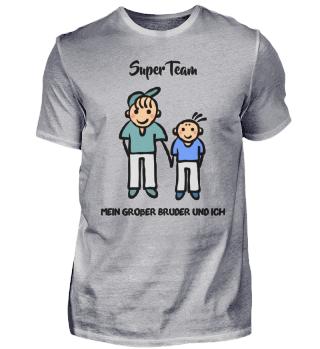 Super Team Bruder Geschwister