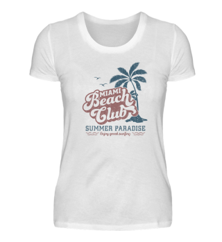 Miami Beach Club - Premium Shirt
