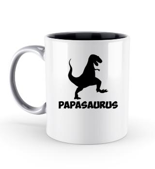 Vater Baby Partnerlook Tasse Papasaurus